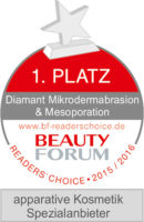 Button 1. Platz BF Award