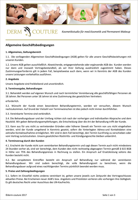 Agb Kosmetikstudio Derm Couture Augsburg
